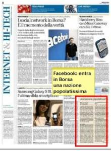 articolo su bresciaoggi.it del lunedì 07 maggio 2012 sezione INTERNET, pagina 8